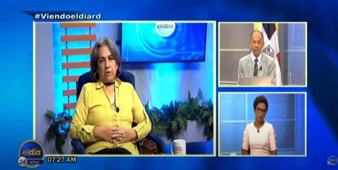 Entrevista a Tahira Vargas, miércoles 6 de octubre, programa El Día