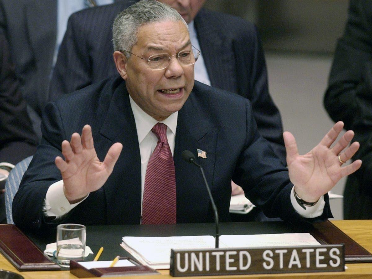 Colin Powell, el general de EEUU opacado por Irak
