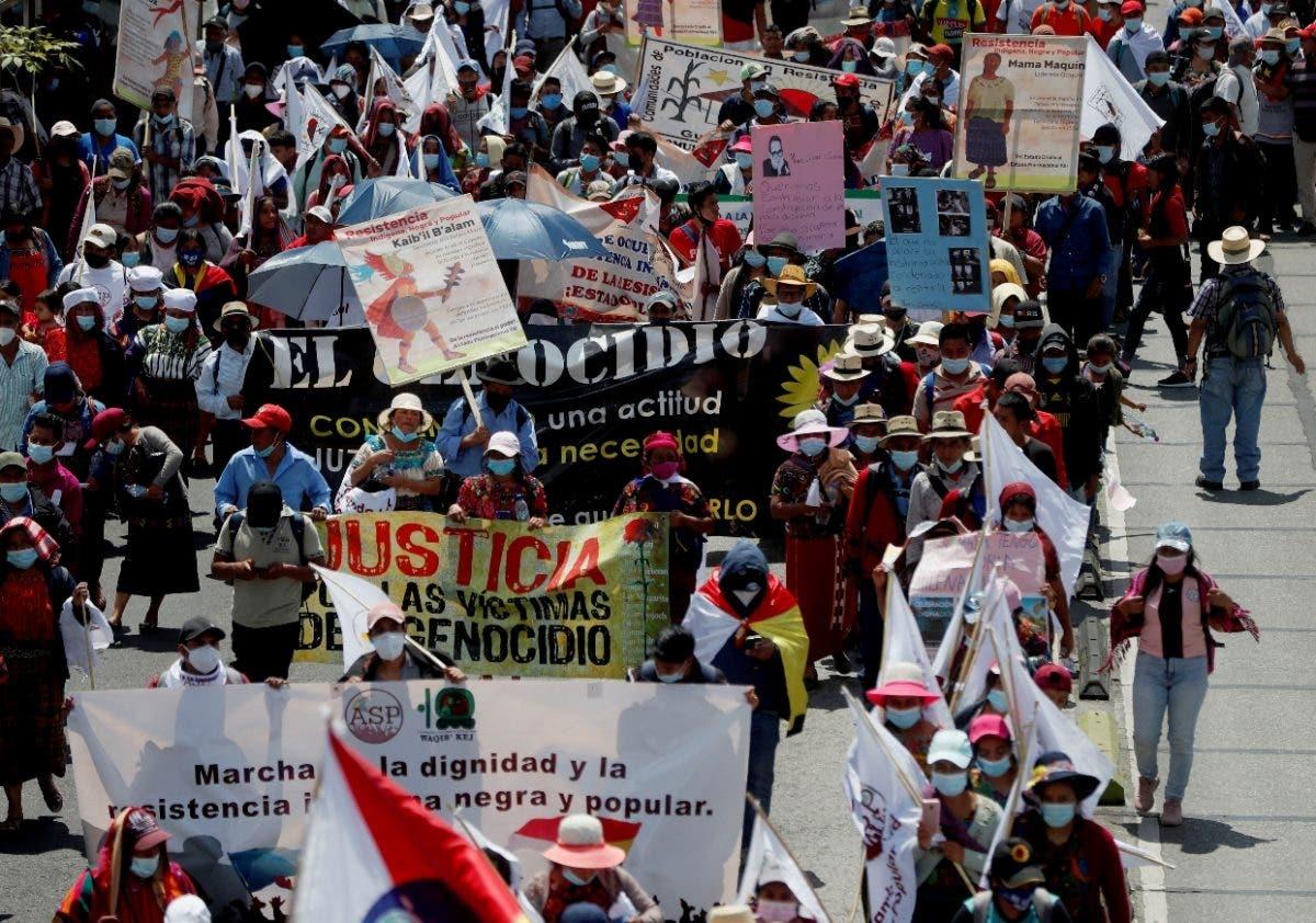 Grupos AL truenan contra racismo y el colonialismo
