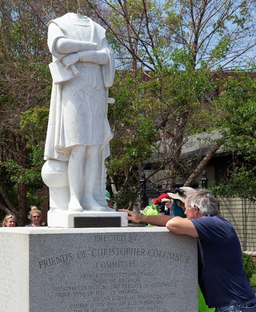 Cristóbal Colón pierde amigos y estatuas en EEUU