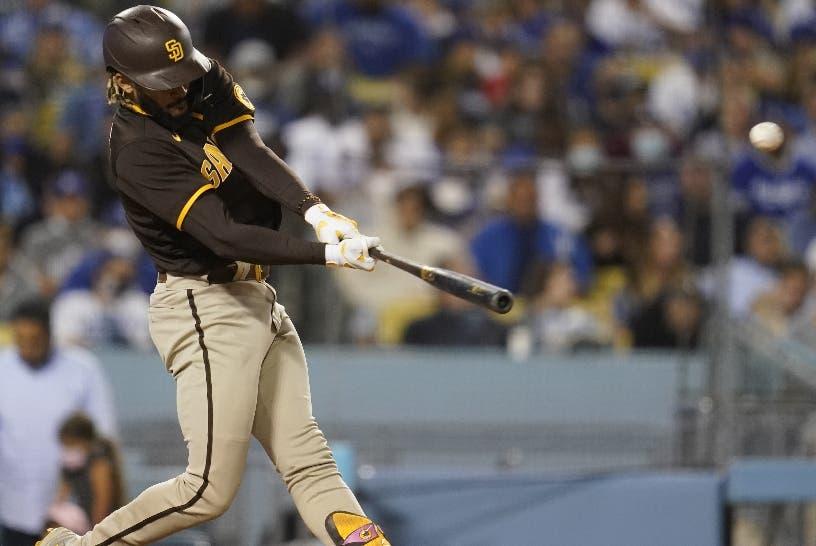 Fernando Tatis Jr. sacó la pelota del Dodger Stadium