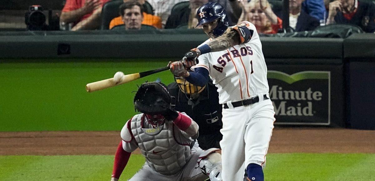 Jonrón de Correa da primer triunfo Astros ante Boston