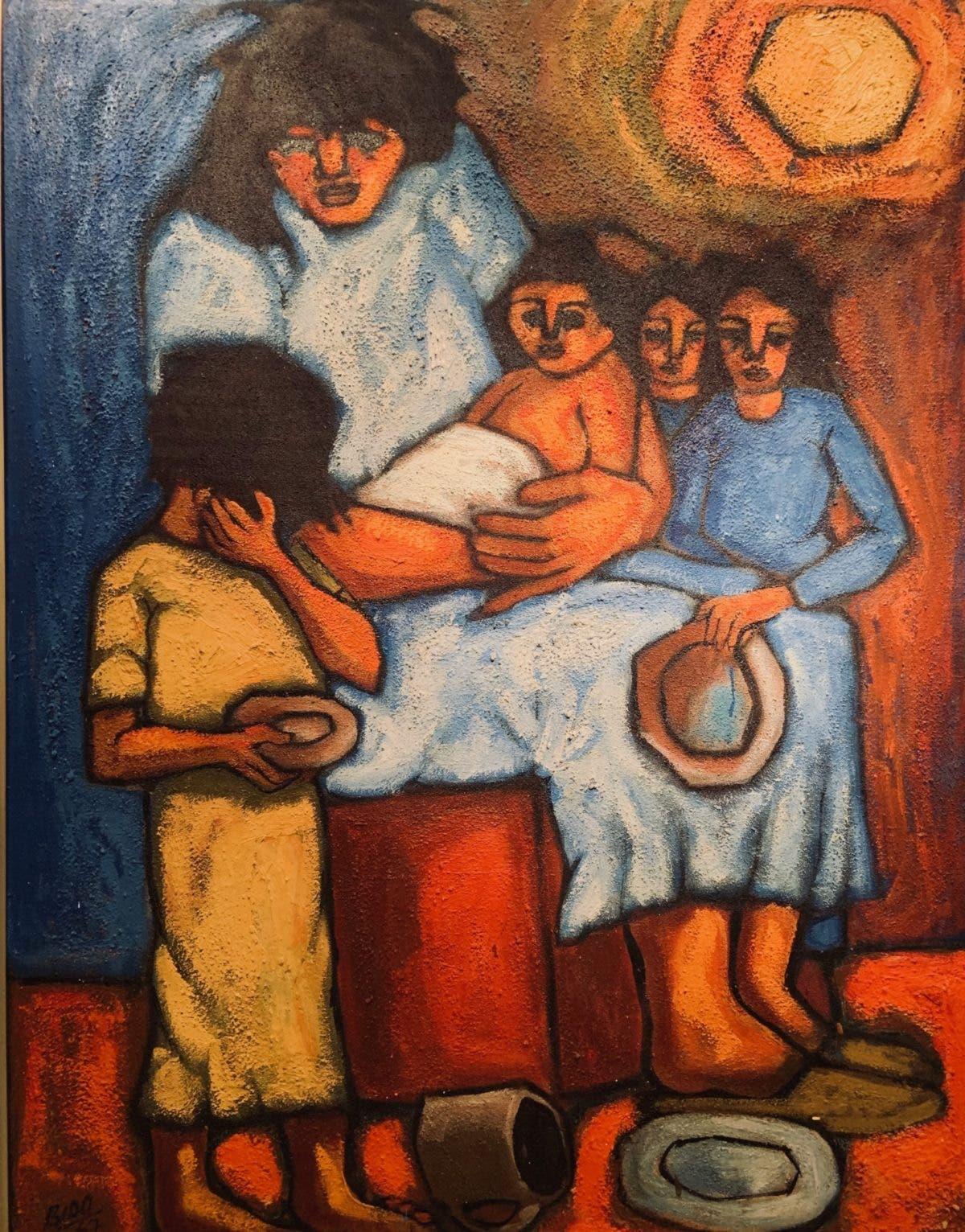 Cándido Bidó en Bellas Artes,  imágenes fantásticas, idílicas…