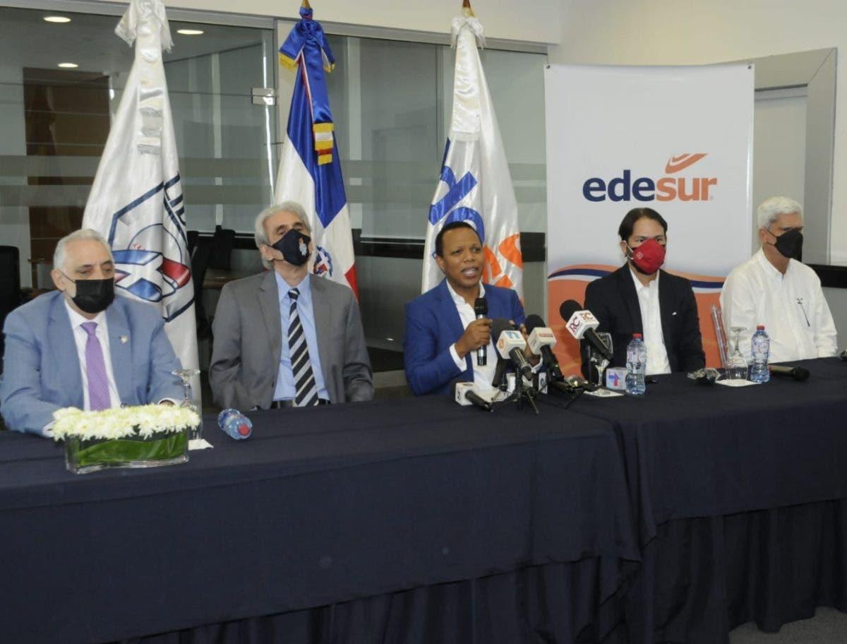Milton Morrison anuncia que Edesur apoyará otra vez el torneo de béisbol