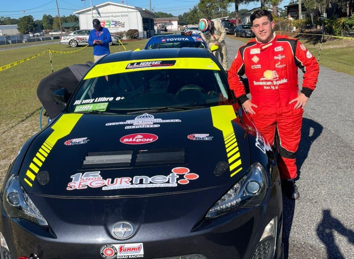 Jimmy Llibre campeón en South Atlantic Road Racing