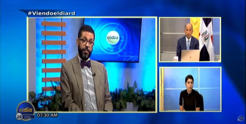 Entrevista a Nassef Perdomo en el programa El Día