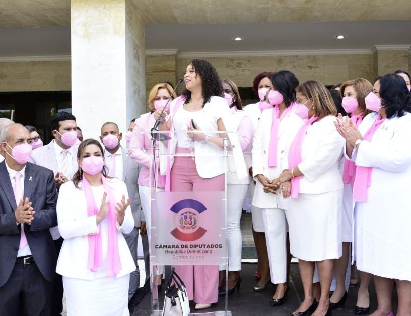 Diputadas que tuvieron   cáncer piden  apoyo  para la cura