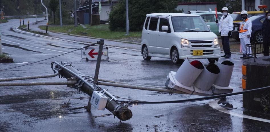 Al menos 32 heridos tras el terremoto de 5,9 en Japón que afectó a Tokio
