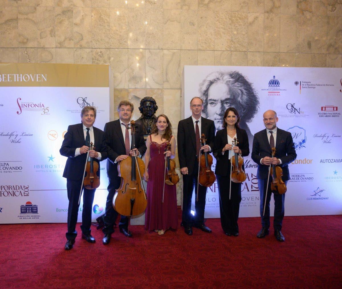 Músicos Filarmónica de Berlín se presentan por primera vez en el Teatro Nacional