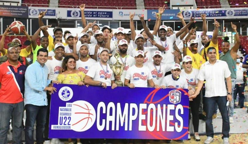 Areperos de San Carlos conquistan el primer campeonato de la Liga Nacional de Desarrollo