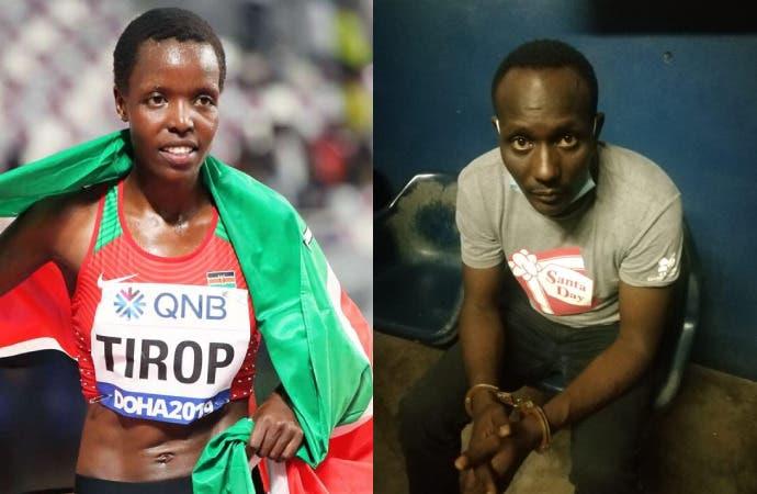Sospechoso del asesinato de atleta keniana pasará 20 días en custodia