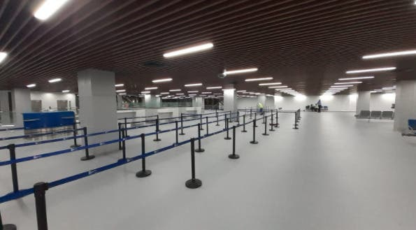 Aerodom pone en funcionamiento nueva área para procesos seguridad y migración en AILA