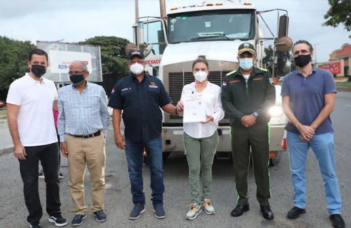 Inicia hoy proyecto piloto  busca regular transporte de carga en el Distrito Nacional