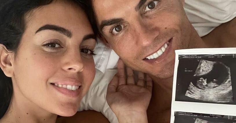 Cristiano Ronaldo y su pareja anuncian que esperan gemelos