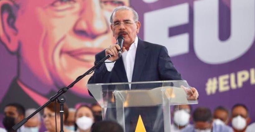 Danilo Medina dice el único delito del PLD fue servirle a los pobres