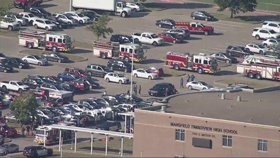 Video: Tiroteo en una escuela secundaria de Texas; varios heridos