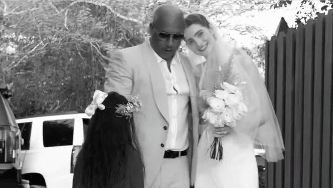 Hija de Paul Walker se casa en RD; Vin Diesel la acompaña al altar
