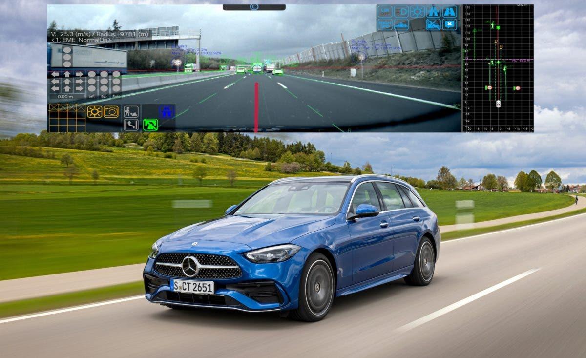 Módulo de cámara LG ADAS aumenta la seguridad del conductor y los pasajeros en el nuevo Mercedes-Benz C-Class