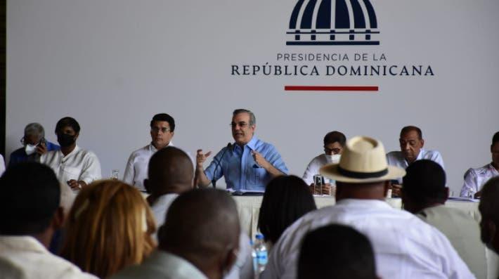 Abinader asegura se invierten RD$20 mil millones en transformación Santo Domingo Este