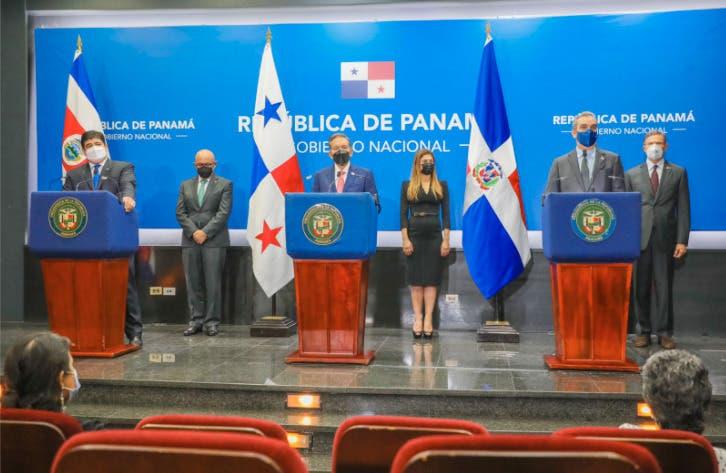 Abinader, Cortizo y  Alvarado  proponen acciones urgentes para lograr desarme y creación de empleo en Haití