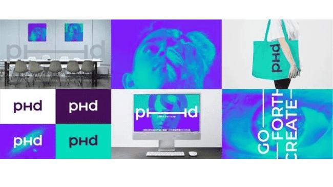 PHD lanza una nueva identidad visual global