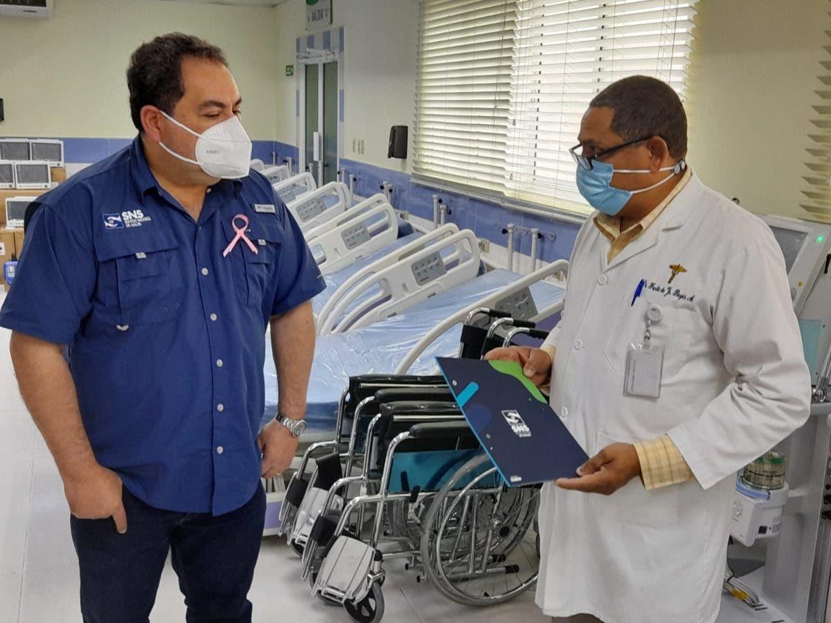 Servicio Nacional de Salud entrega equipos a Hospital Salvador Gautier