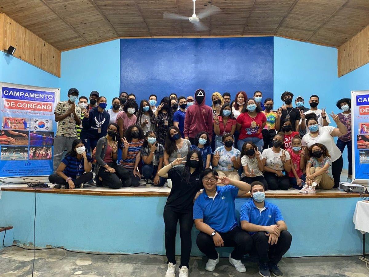 IYF realiza campamento de coreano para incentivar liderazgo en la zona sur Santiago