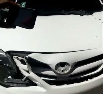 Video: Presuntos policías habrían disparado contra un carro de una mujer en Barahona