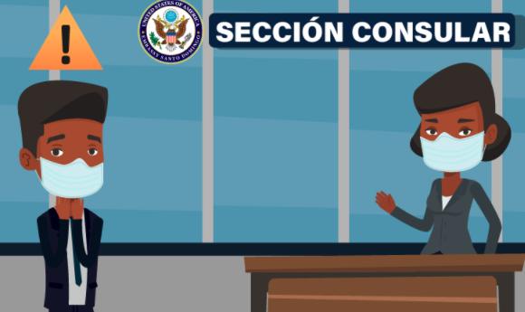 Embajada EEUU informa que entrevistas presenciales para visas de no inmigrantes siguen suspendidas