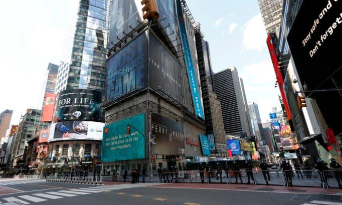 Por tercera vez este año alguien es baleado en Times Square