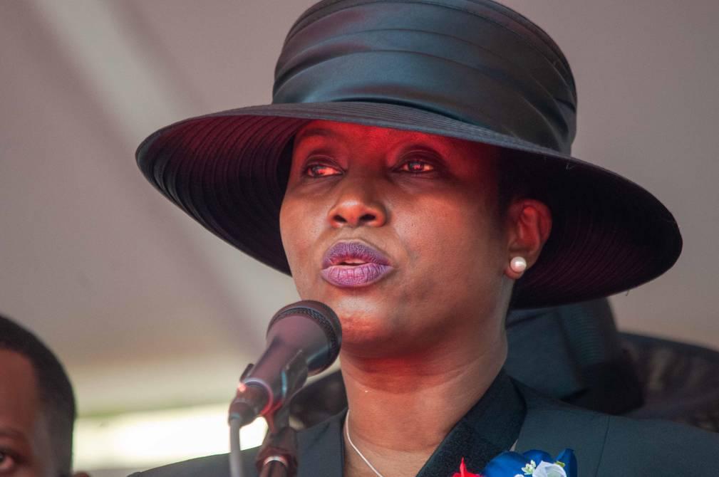 Martine Moïse denuncia formalmente al primer ministro haitiano por muerte de Jovenel
