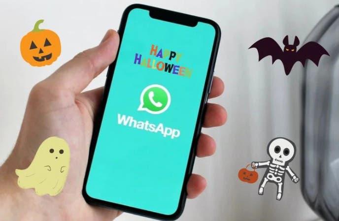 Llegó halloween a WhatsApp: Así puedes activarlo