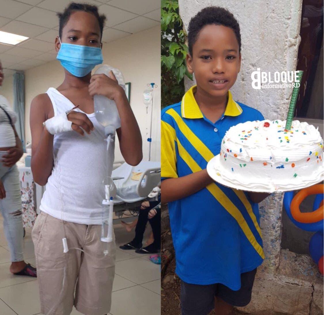 Madre solicita ayuda para hijo que necesita trasplante de médula
