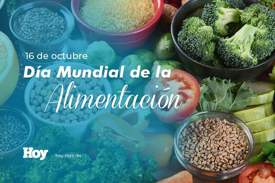 ¿Por qué se celebra Día Mundial de la Alimentación, el 16 de octubre?