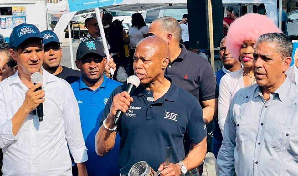 Concejal reafirma visita Eric Adams a RD después su triunfo alcaldía NYC