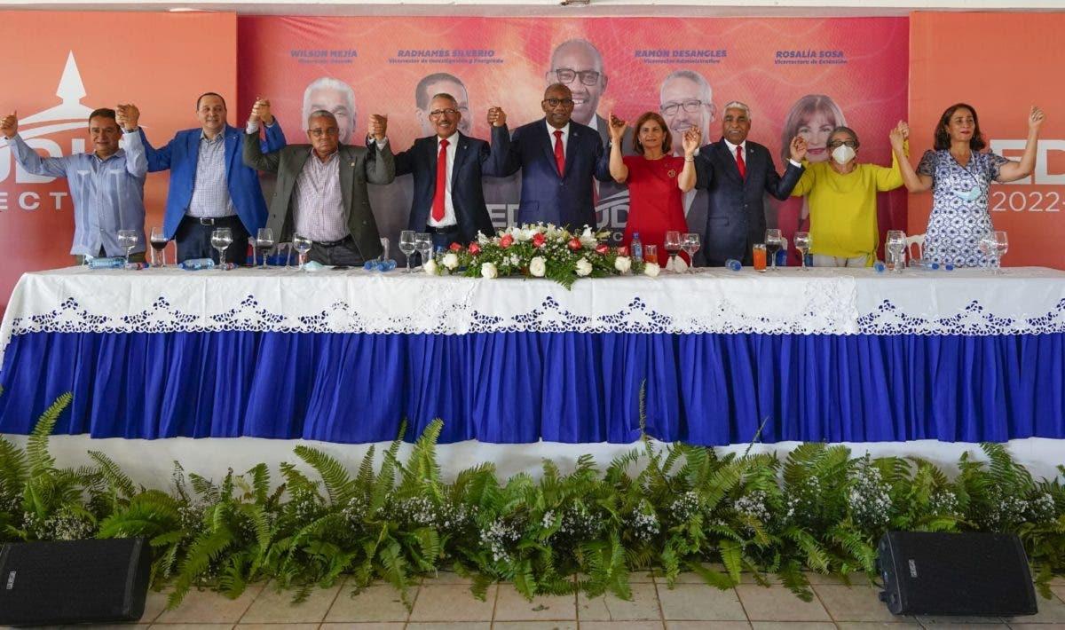 En Nagua, Editrudis Beltrán dice desde la rectoría apoyaría sin reservas objetivos de desarrollo nacional