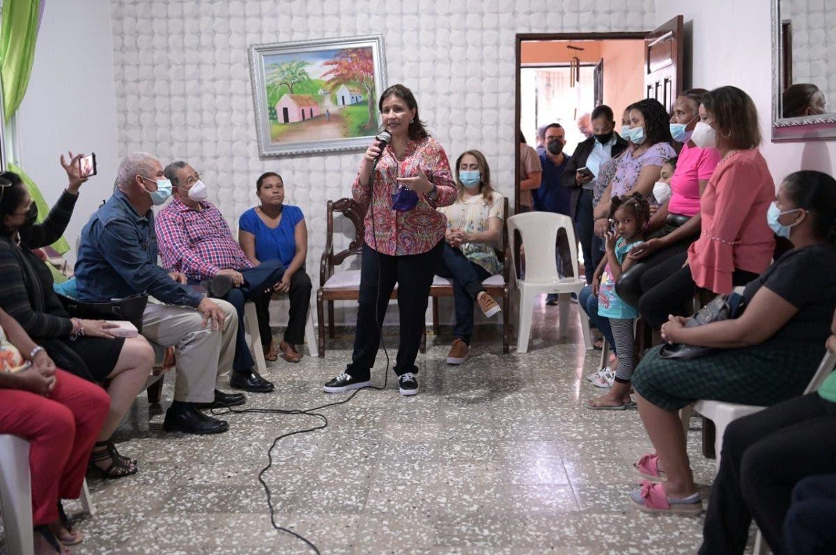 Margarita Cedeño dice el gobierno le ha robado la esperanza y la alegría a los dominicanos