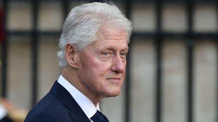 Bill Clinton agradeció el apoyo mientras estuvo ingresado