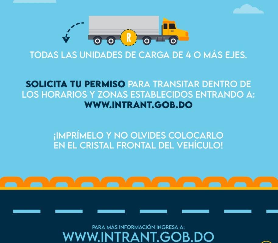 ¿Tienes vehículo de carga? Aquí el enlace para sacar permiso de circulación