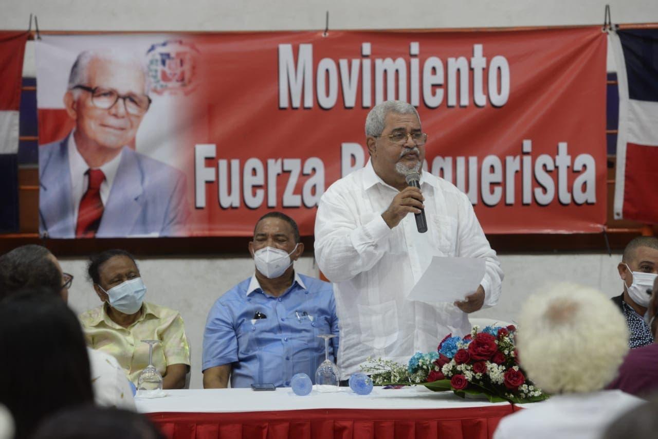 Héctor Marte juramenta directivas del Movimiento Fuerza Balaguerista