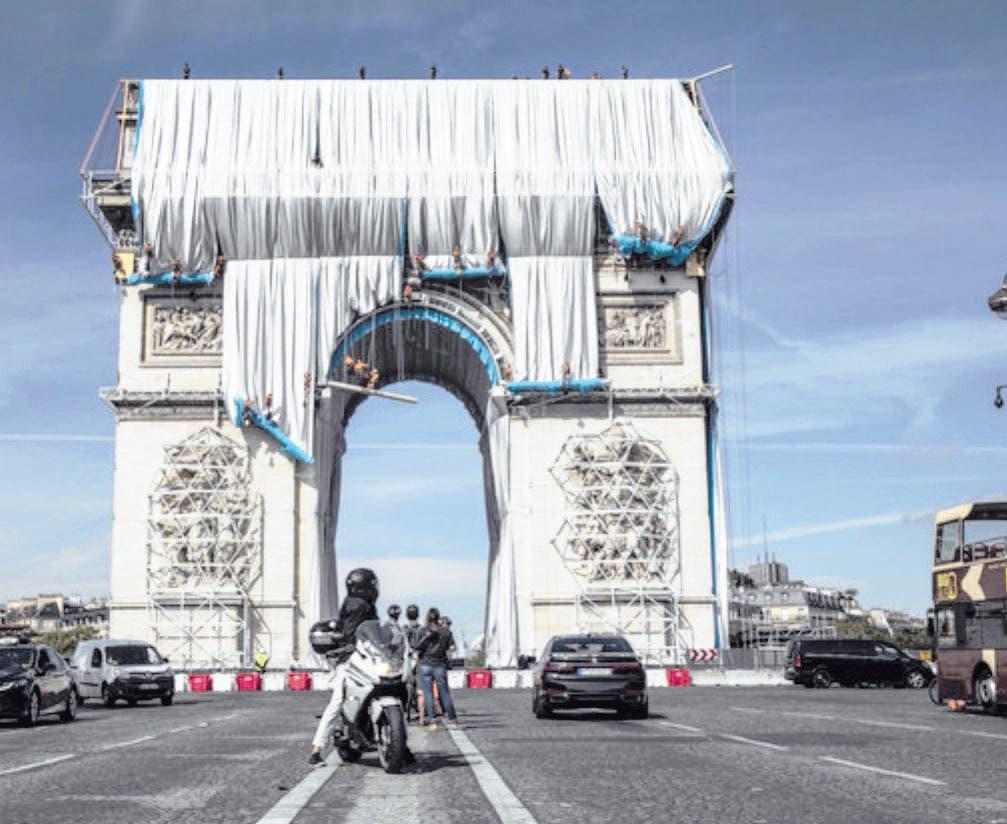 """"""" El Arco del Triunfo para el arte conceptual"""""""