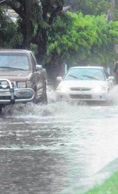 Meteorología prevé aguaceros moderados este fin de semana