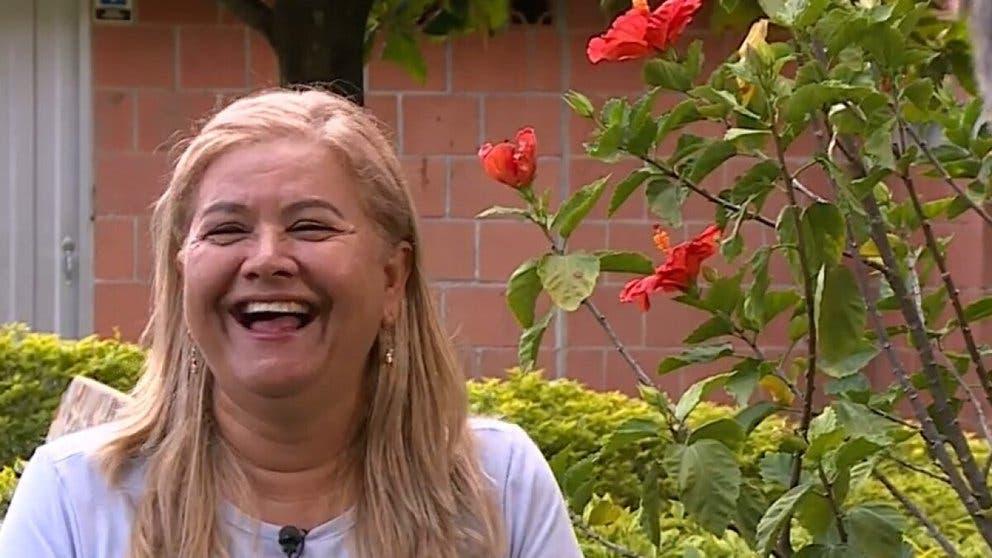 Martha, la mujer espera, entre risas, la hora de su muerte