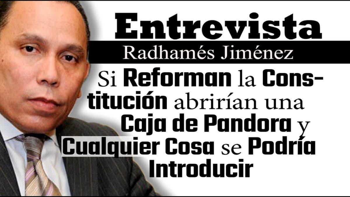Entrevista a Radhamés Jiménez, lunes 4 de octubre, programa Telematutino 11