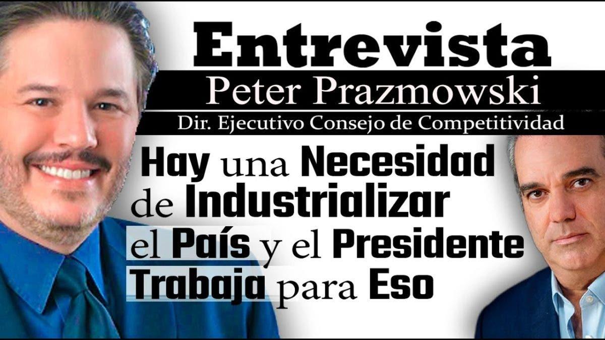 Entrevista a Peter Prazmowski, jueves 14 de octubre, programa Telematutino 11