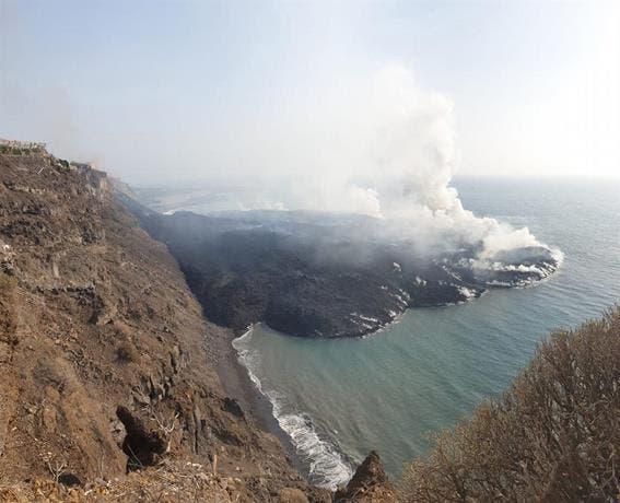 Nube con dióxido de azufre desde volcán de La Palma en España llega a Puerto Rico