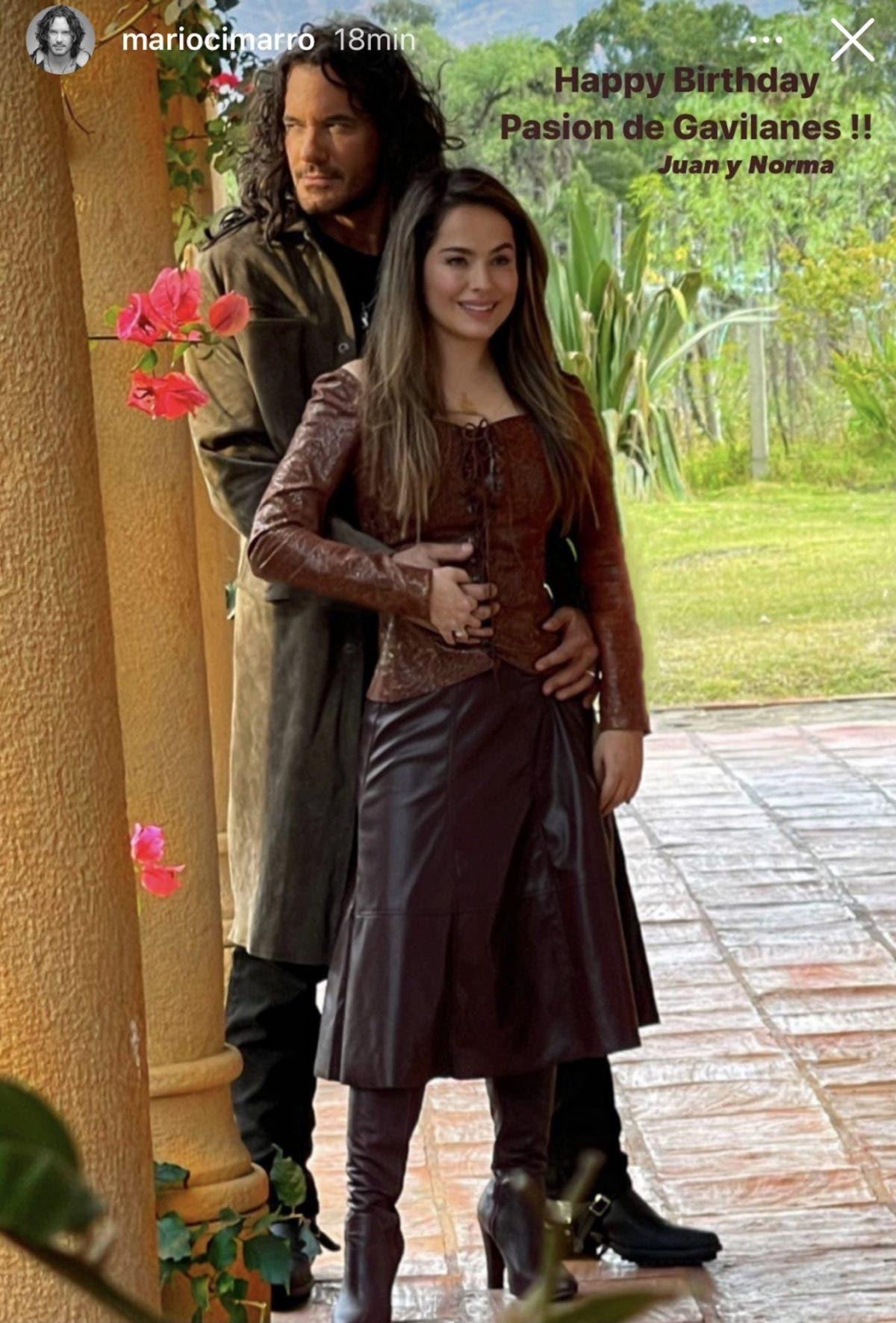 Pasión de Gavilanes 2: Primera imagen de Mario Cimarro y Danna García