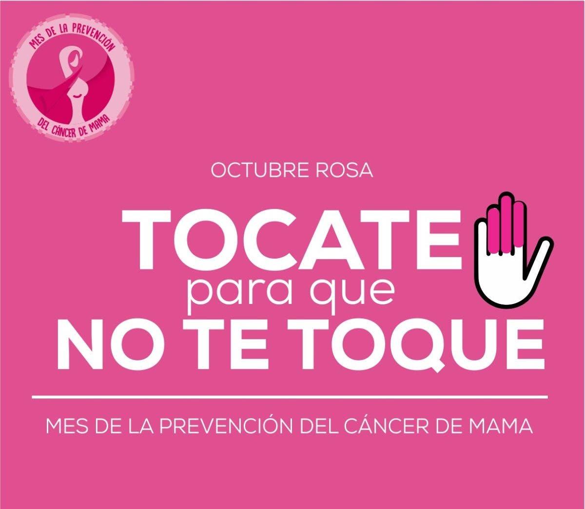 ARS con campaña contra cáncer de mama