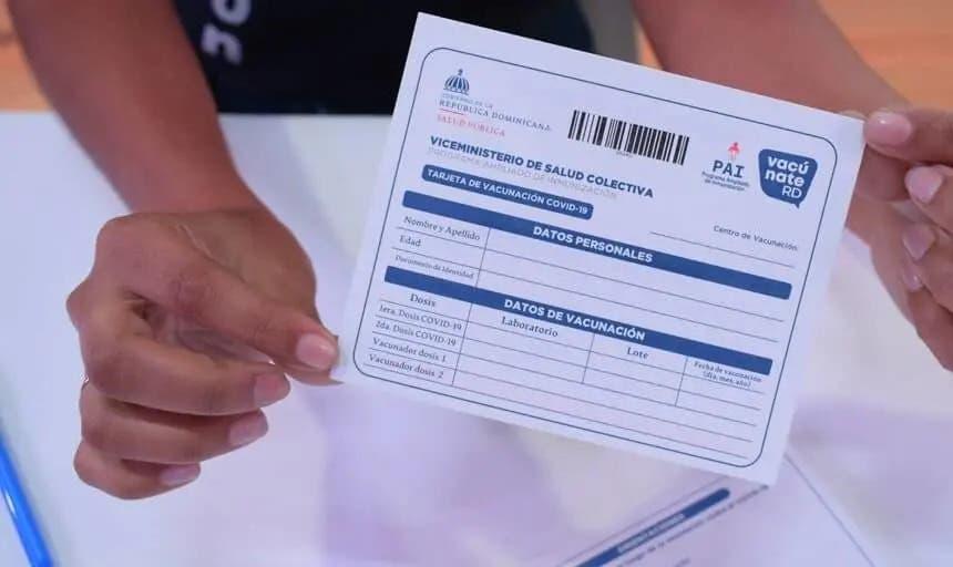 Salud Pública advierte: No se ha creado app para tarjetas de vacunación